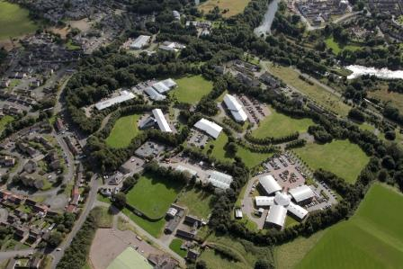 Aerial image of Aberdeen Energy & Innovation Parks