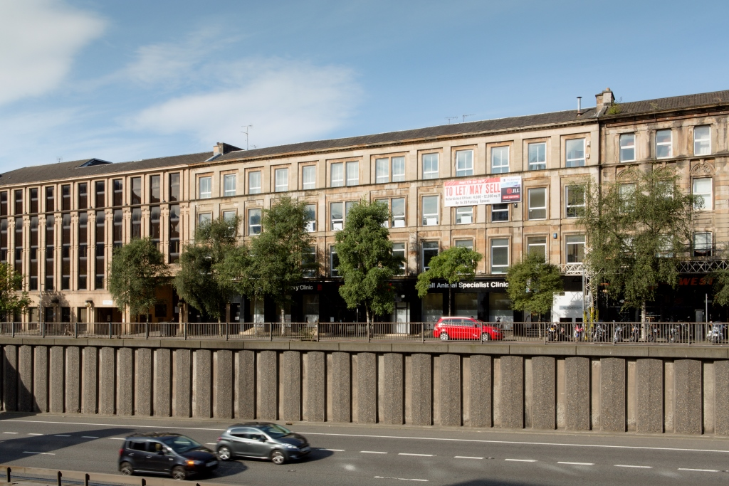 Refurbished office suites, North Street, Glasgow City Centre