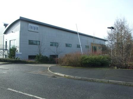 Turpin Distribution Unit at Stratton Business Park in Biggleswade